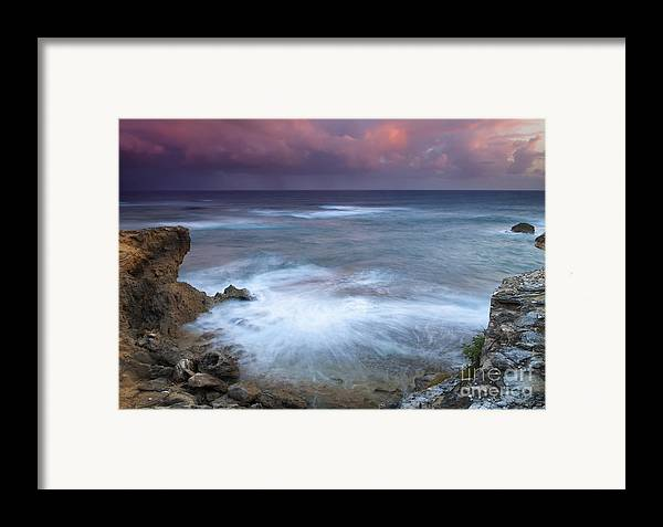 Kauai Framed Print featuring the photograph Pastel Storm by Mike Dawson