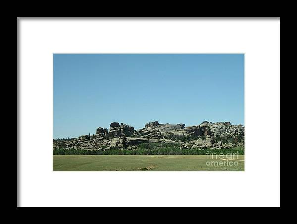 Wyoming Framed Print featuring the photograph Path To Peace by Paula Cork