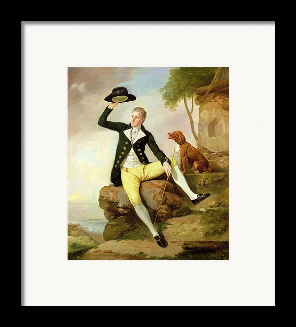 Xyc191992 Framed Print featuring the photograph Patrick Heatly by Johann Zoffany
