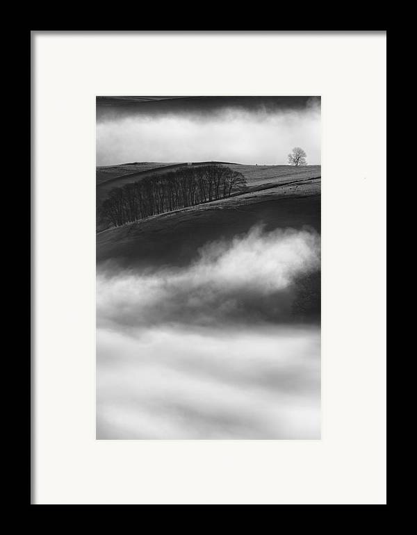 Peak District Framed Print featuring the photograph Peak District Landscape by Andy Astbury