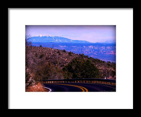 Agassiz Peak Framed Print featuring the photograph Peaks From The Black Hills by Aaron Burrows