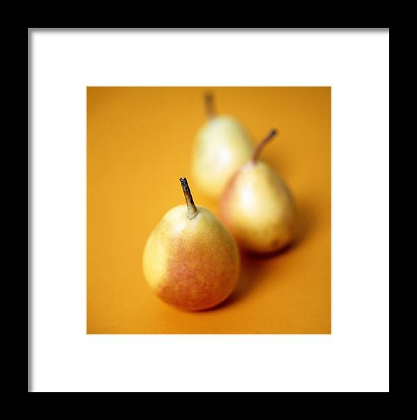 Pyrus Communis Framed Print featuring the photograph Pears by Cristina Pedrazzini