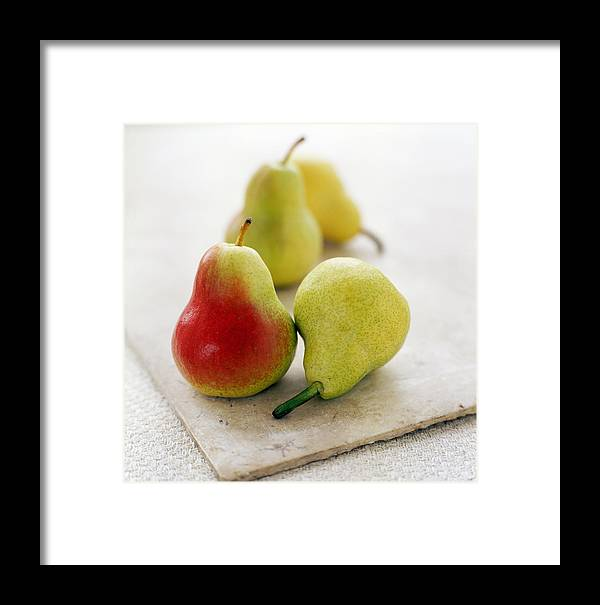 Pyrus Communis Framed Print featuring the photograph Pears by David Munns
