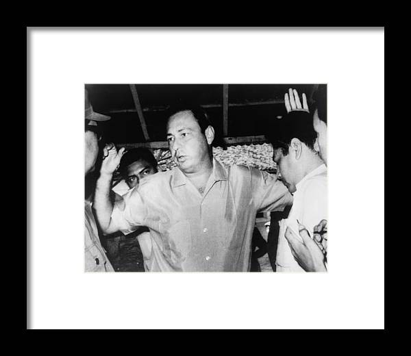 History Framed Print featuring the photograph Pedro Joaquin Chamorro 1924-1978 by Everett