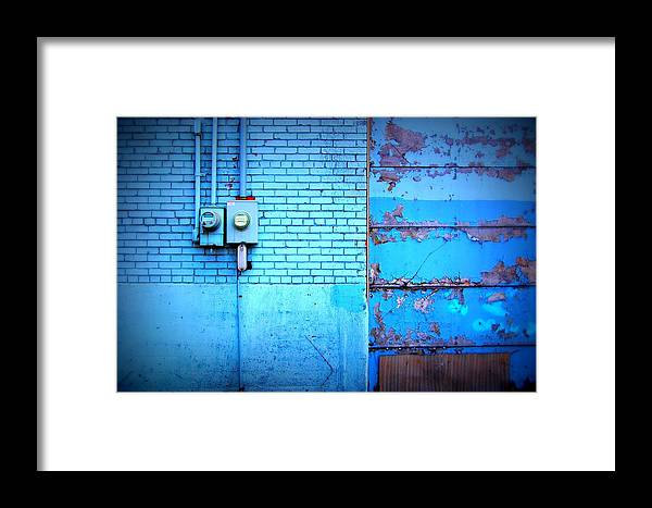 Framed Print featuring the photograph Peel by Tim Burgin