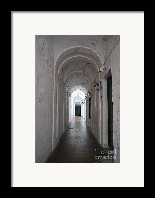 Argentina Framed Print featuring the photograph Penance by Jen Bodendorfer