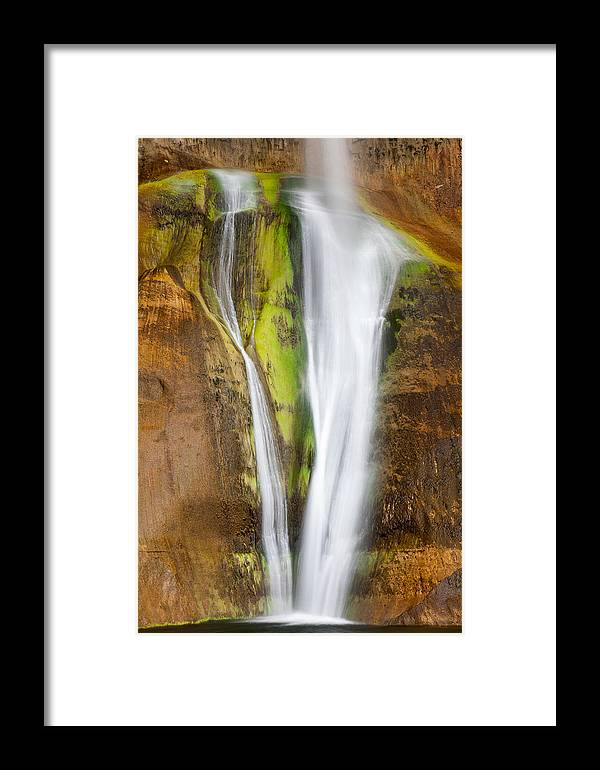 American Southwest Framed Print featuring the photograph Perennial Plunge by James Marvin Phelps