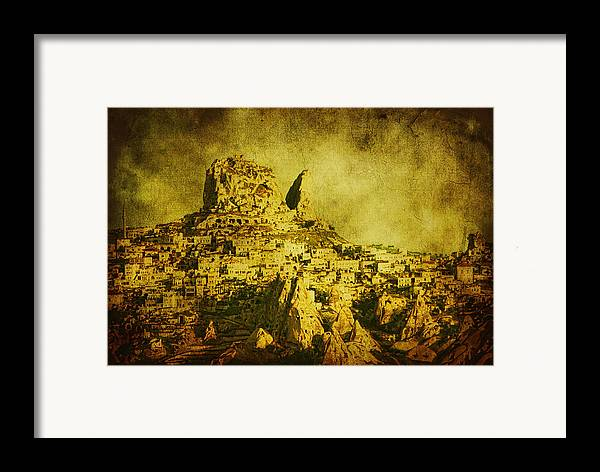 Cappadocia Framed Print featuring the photograph Persian Empire by Andrew Paranavitana