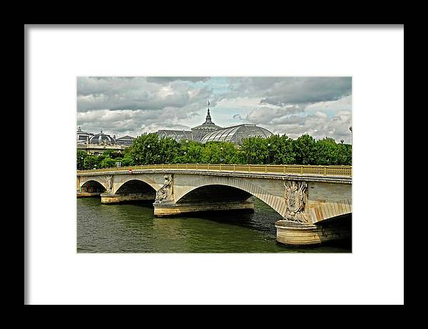 Petit Palace Framed Print featuring the photograph Petit Palace Paris France by Dave Mills