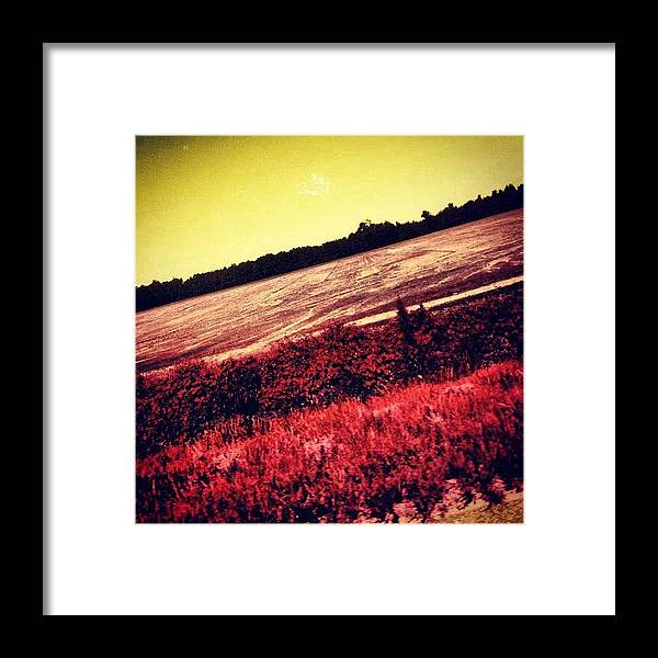 Beautiful Framed Print featuring the photograph Pic While Driving by Katie Williams