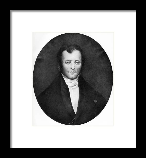 Pierre Louis Framed Print featuring the photograph Pierre Louis, French Physician by