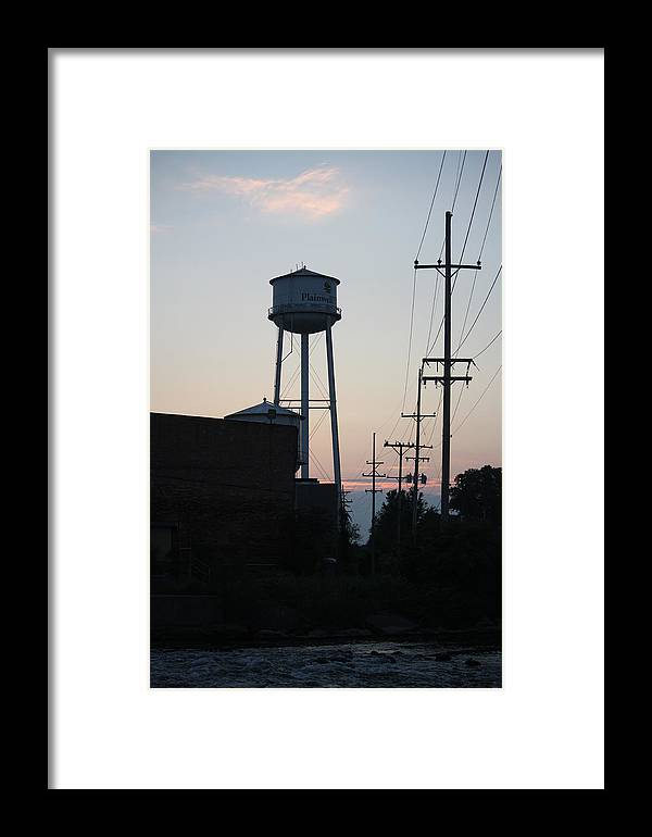 Plainwell Framed Print featuring the photograph Plainwell Paper Mill II by Penny Hunt