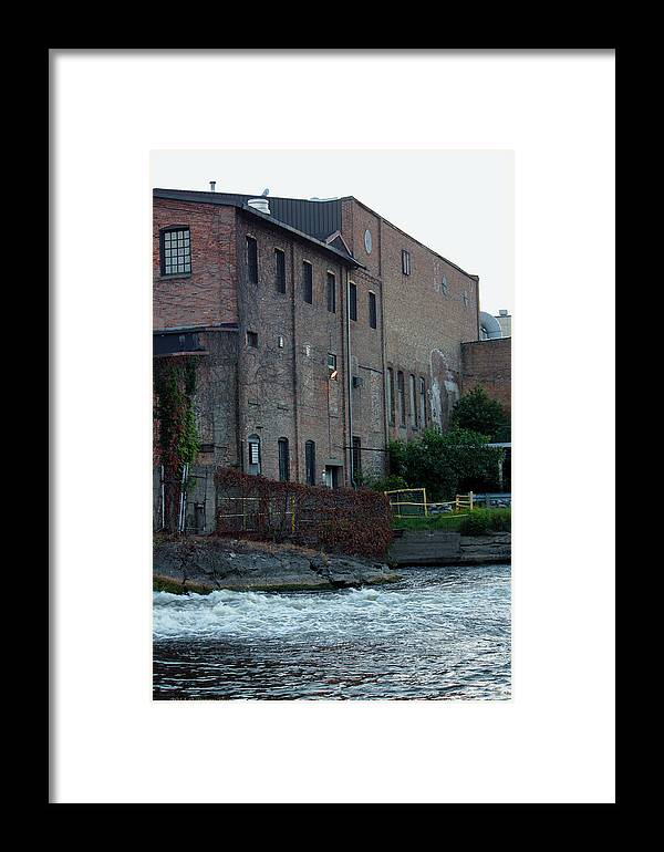 Plainwell Paper Mill Framed Print featuring the photograph Plainwell Paper by Penny Hunt