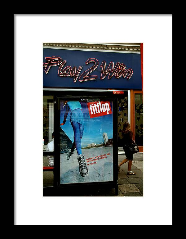 Jezcself Framed Print featuring the photograph Play 2 Win by Jez C Self
