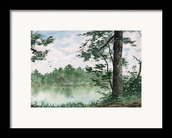 Plein Air Framed Print featuring the painting Plein Air 11 by Sean Seal