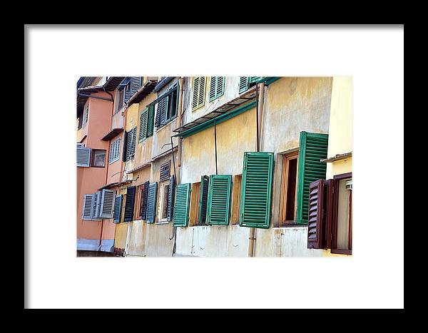 Window Framed Print featuring the photograph Pointe Vecchio 11 by Allan Rothman