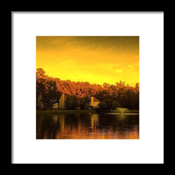 Summer Framed Print featuring the photograph Pond by Katie Williams