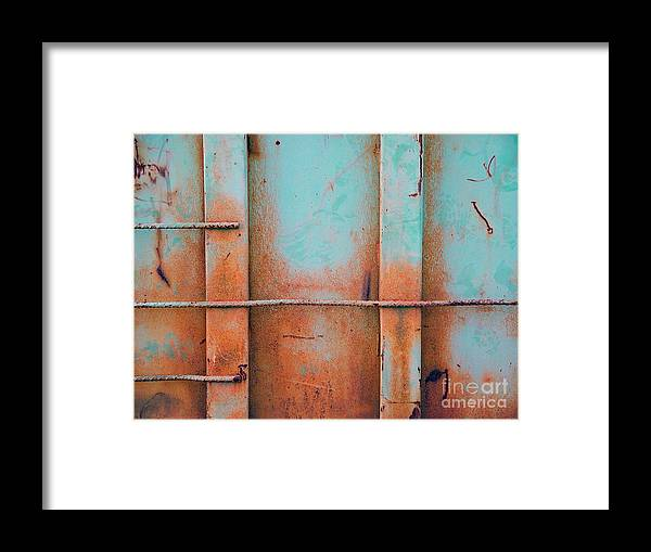 Metal Framed Print featuring the photograph Pond Road Metal by Kerryn Davis