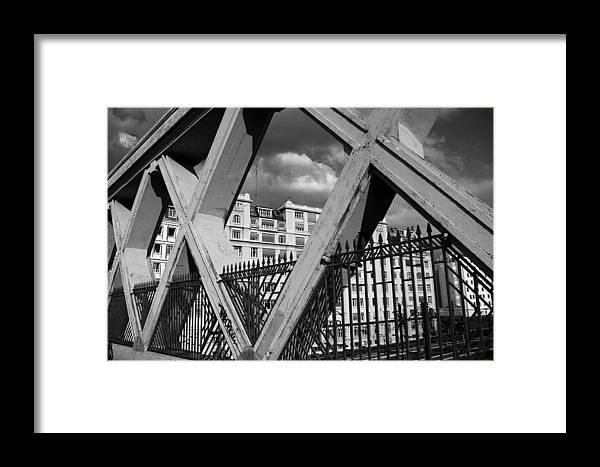 Paris Framed Print featuring the photograph Pont Lafayette Paris by Andrew Fare