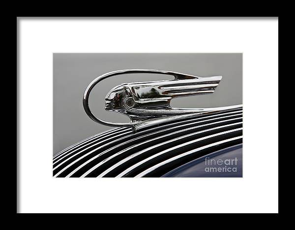 Classic Automobile Framed Print featuring the photograph Pontiac Ornament by Dennis Hedberg