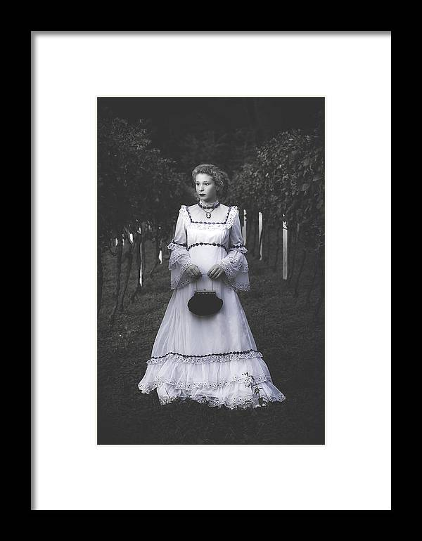Girl Framed Print featuring the photograph Porcelain Doll by Joana Kruse