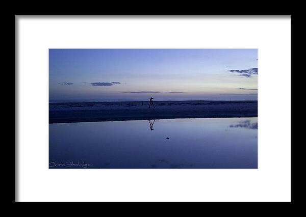 Framed Print featuring the photograph Portrait of D90 by Christine Stonebridge