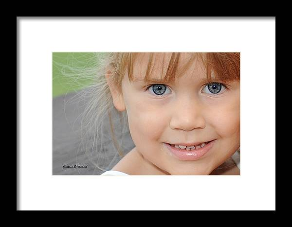 Portrait Framed Print featuring the photograph Portrait Of Megan by Jonathan Whichard