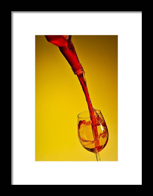 Pouring Framed Print featuring the photograph Pouring by Travel Images Worldwide