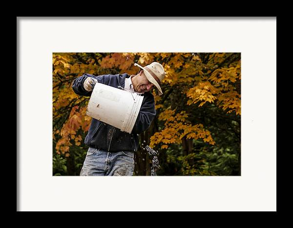 Vineyard Framed Print featuring the photograph Pouring Wine by Jean Noren