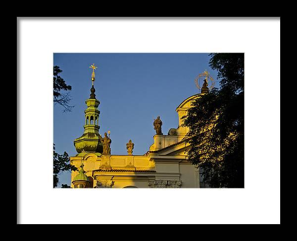 Prague Framed Print featuring the photograph Prague - Strahov Monastery by Jon Berghoff