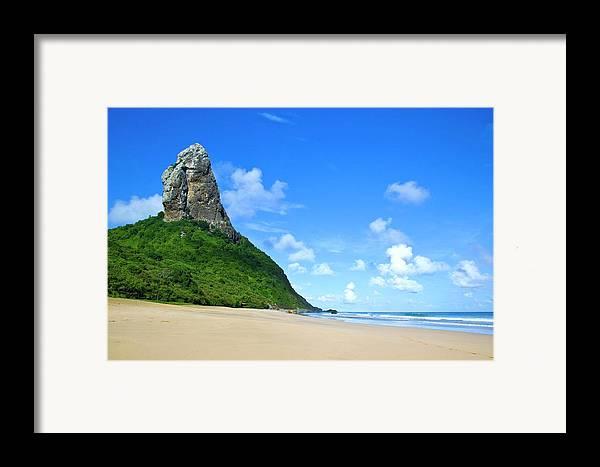 Horizontal Framed Print featuring the photograph Praia Da Conceição by Nicolas Vallejos Photography and Design
