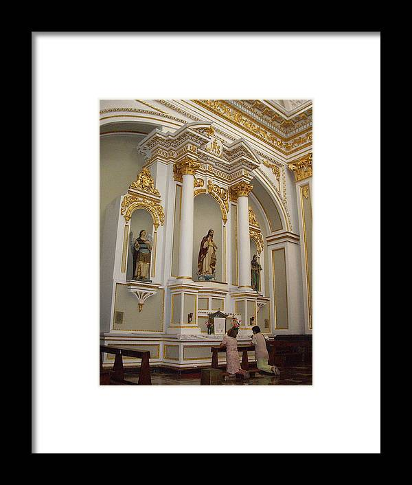 Aimee Mouw Framed Print featuring the photograph Prayers Of The Faithful by Aimee Mouw