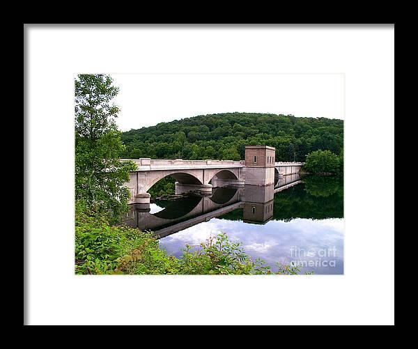 Dam Framed Print featuring the photograph Prettyboy Dam by Mark Dodd