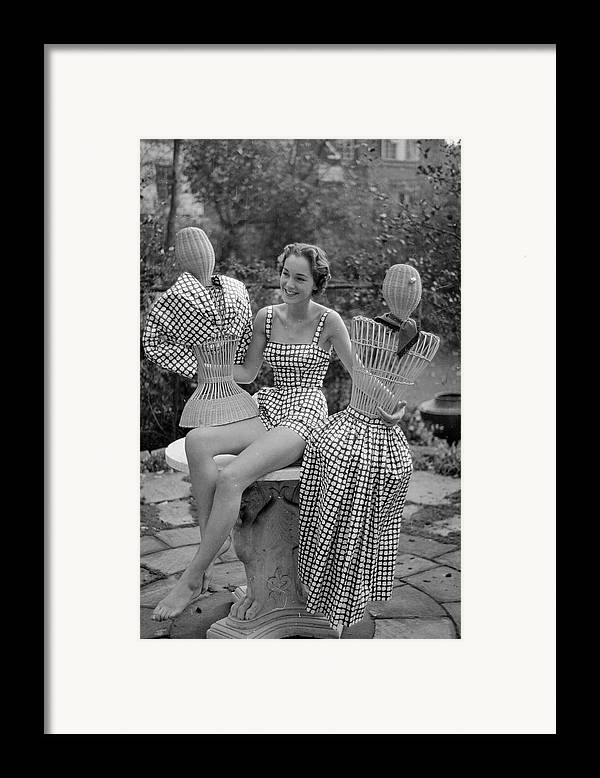 Young Adult Framed Print featuring the photograph Princess Collection by Kurt Hutton