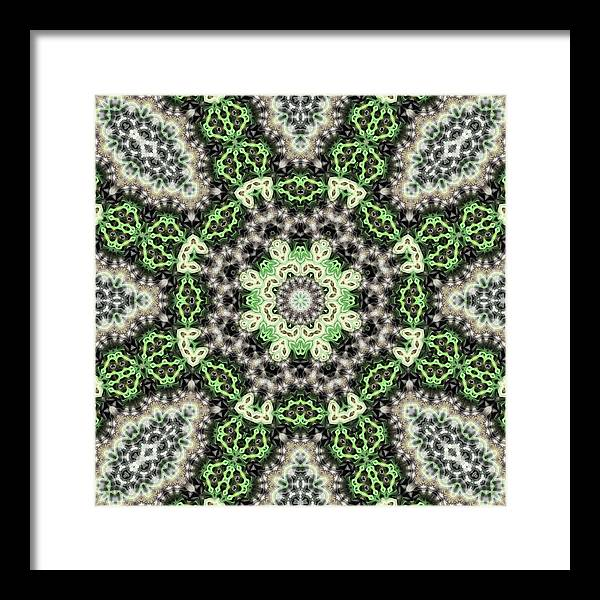 Motifs Framed Print featuring the photograph Psyches111 by KH Lee