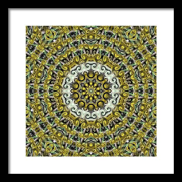 Motifs Framed Print featuring the photograph Psyches115 by K H Lee