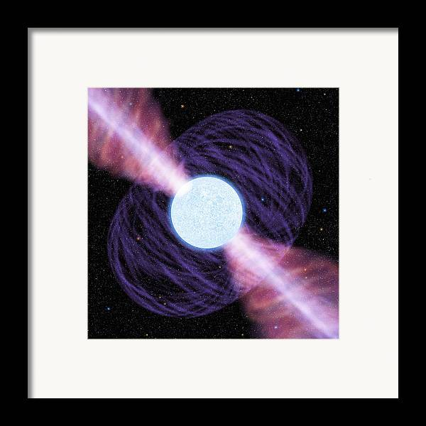 Artwork Framed Print featuring the photograph Pulsar by Chris Butler