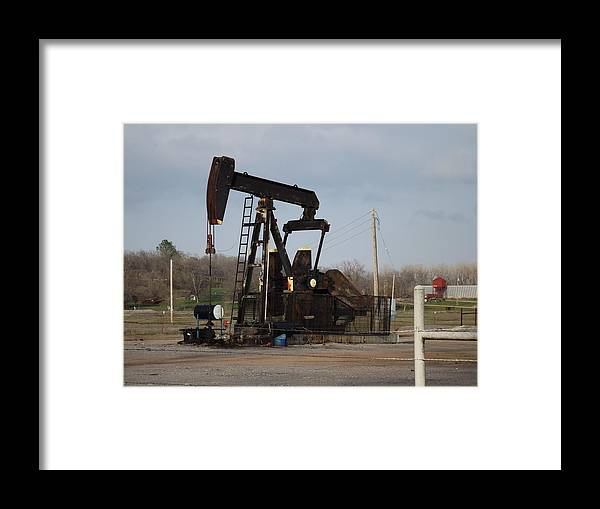 Country Framed Print featuring the photograph Pump by Shannon Bever