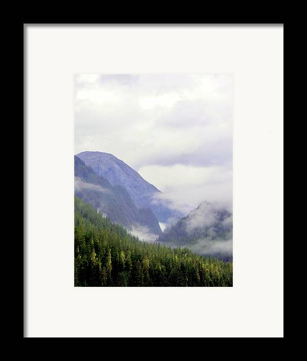 Mountains Framed Print featuring the photograph Purple Mountain Majesties by Mindy Newman