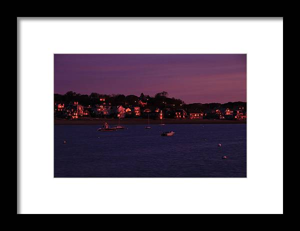 Sunrise Framed Print featuring the photograph Purple Sunrise by DK Hawk