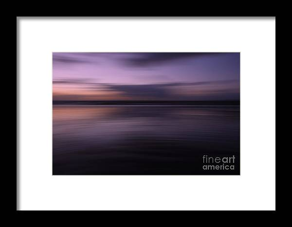 England Framed Print featuring the photograph Purple Sunset by Urban Shooters