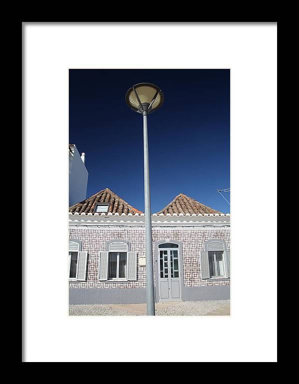 Jezcself Framed Print featuring the photograph Pyramid Lighting by Jez C Self