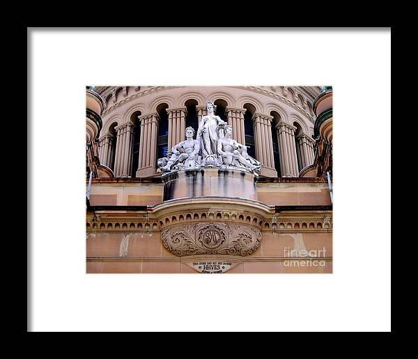Photography Framed Print featuring the photograph Queen Victoria Building - Sydney by Kaye Menner