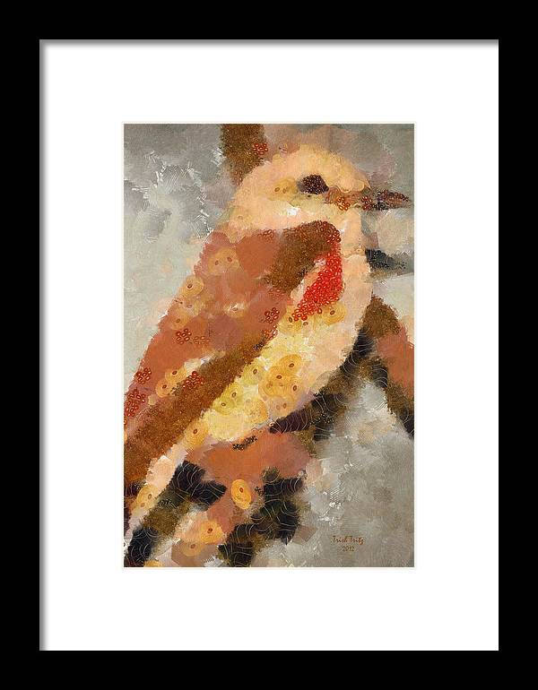 Bird Framed Print featuring the photograph Quiet In The Corner by Trish Tritz