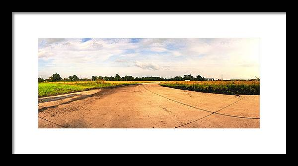 Raf Framed Print featuring the photograph Raf Eye Taxiway by Jan W Faul