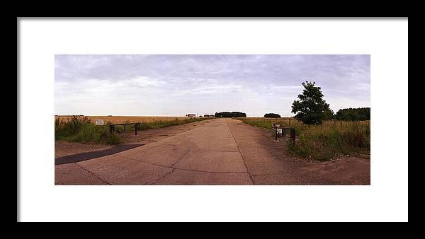 Raf Framed Print featuring the photograph Raf Langham Turkey Farm by Jan W Faul