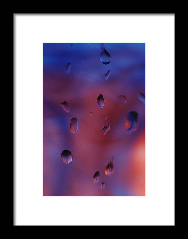 Rain Drops Framed Print featuring the photograph Rainy Day Dreaming by Susan Capuano