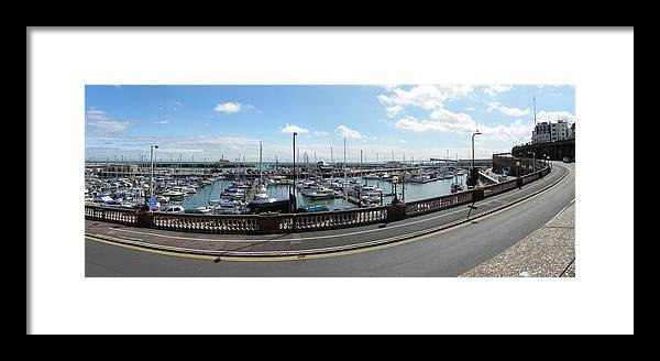 Ramsgate Framed Print featuring the photograph Ramsgate Jetty by Modupe Alaga