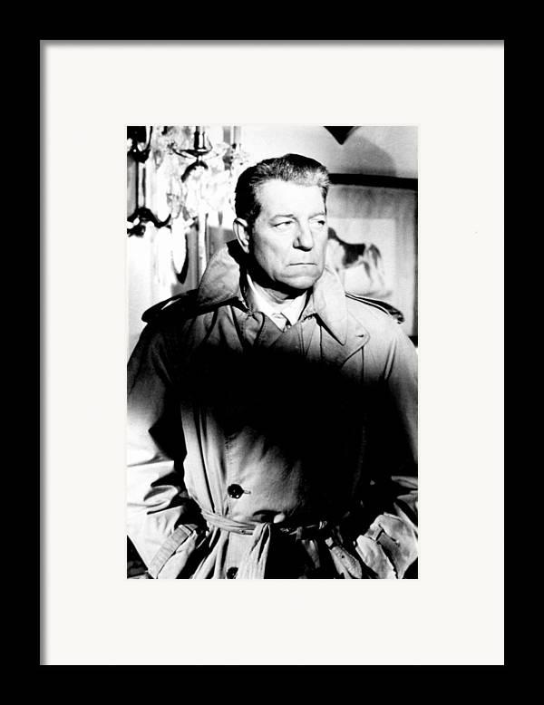 1950s Movies Framed Print featuring the photograph Razzia Sur La Chnouf, Jean Gabin, 1955 by Everett