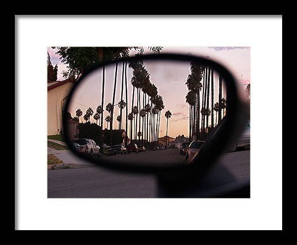 Libra.love.freedom Framed Print featuring the photograph Rear View by D Wash